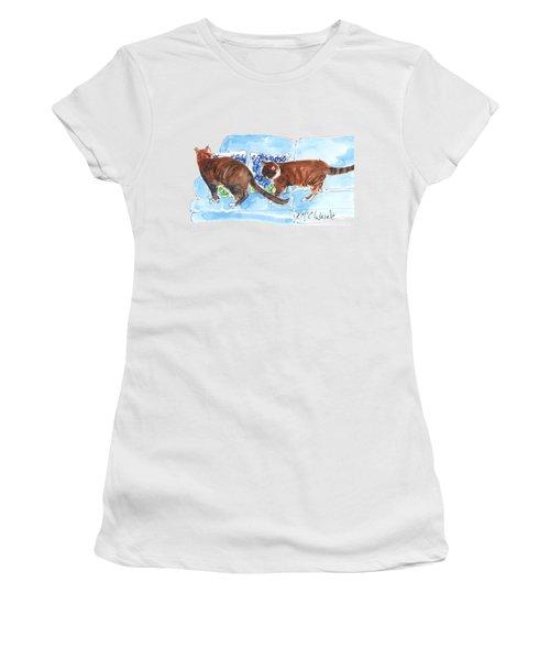 Bluebonnet Pillows Women's T-Shirt (Athletic Fit)