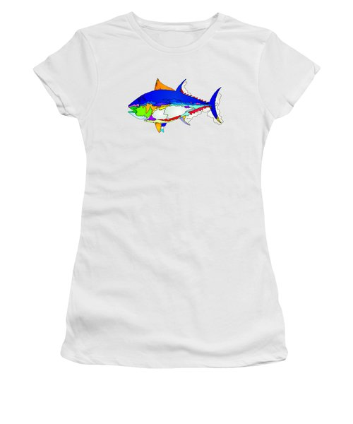 Bluefin Tuna  Women's T-Shirt (Athletic Fit)