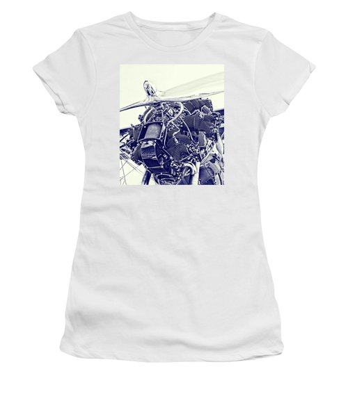 Blueprint Radial Women's T-Shirt (Athletic Fit)