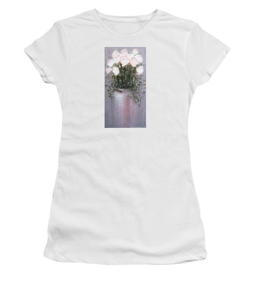 Blush - Original Artwork Women's T-Shirt (Athletic Fit)