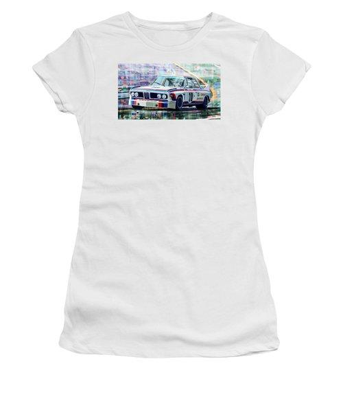 Bmw 3 0 Csl 1st Spa 24hrs 1973 Quester Hezemans Women's T-Shirt