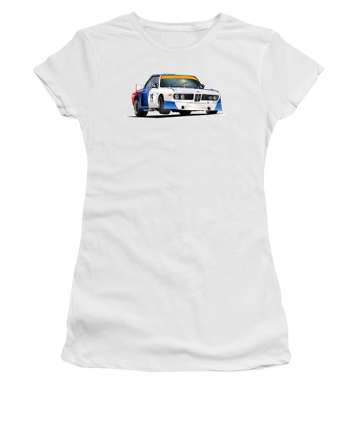 Bmw 3.0 Csl Illustration 2 Women's T-Shirt
