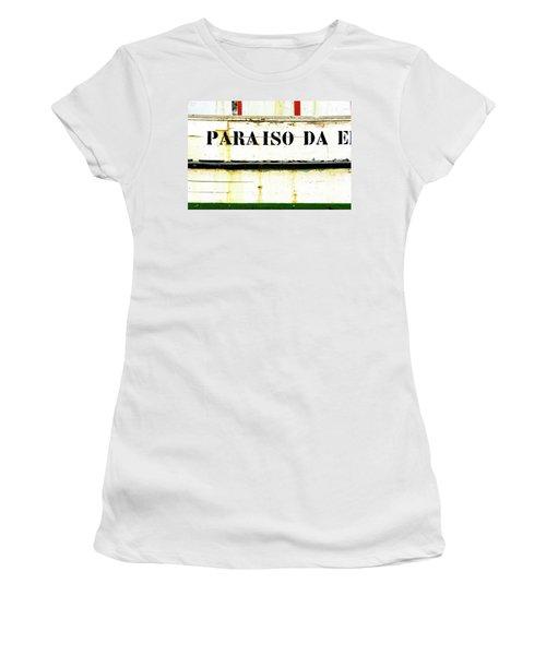 Boat Letters Women's T-Shirt (Athletic Fit)