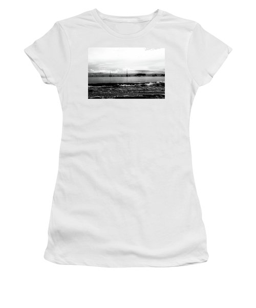 Boats And Clouds Women's T-Shirt