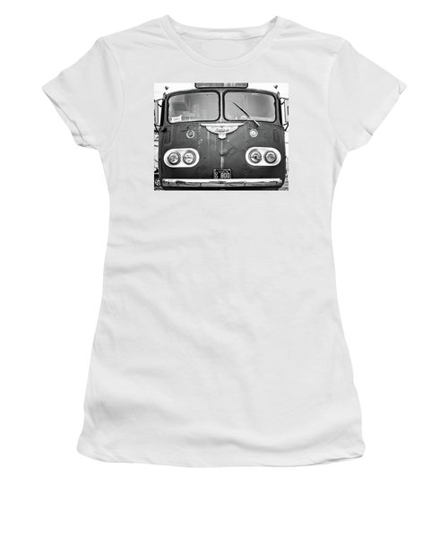 Bob Wills Tour Bus Bw Women's T-Shirt