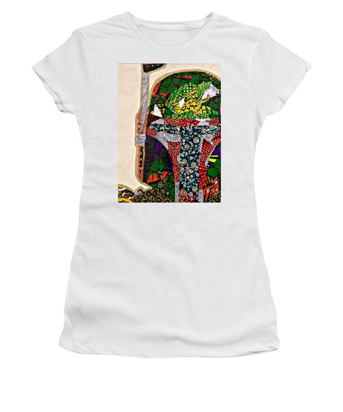 Boba Fett Star Wars Afrofuturist Collection Women's T-Shirt (Athletic Fit)