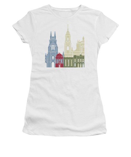 Bogota Skyline Poster Women's T-Shirt