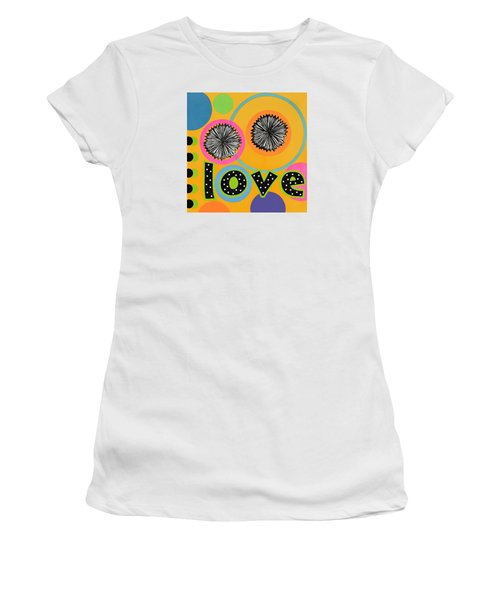 Bold Love Women's T-Shirt (Athletic Fit)