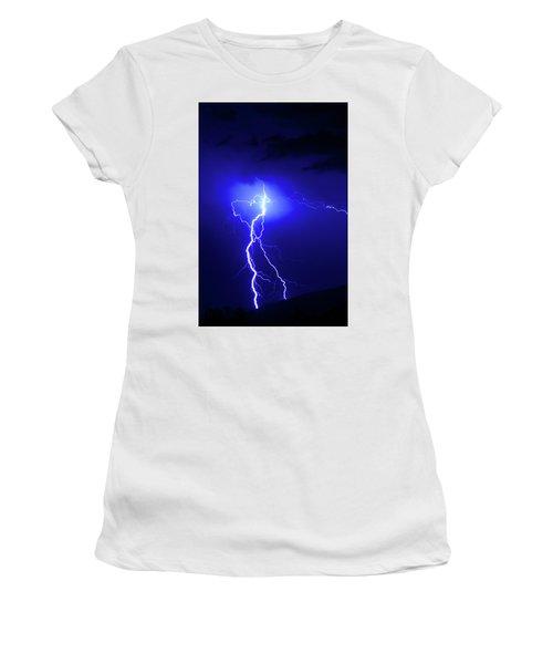 Bolt From The Blue Women's T-Shirt