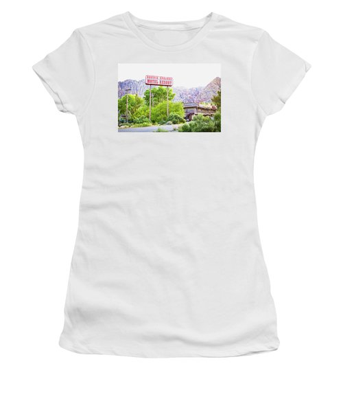 Bonnie Springs Motel Resort Women's T-Shirt (Athletic Fit)