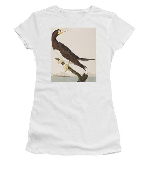 Booby Gannet   Women's T-Shirt (Athletic Fit)
