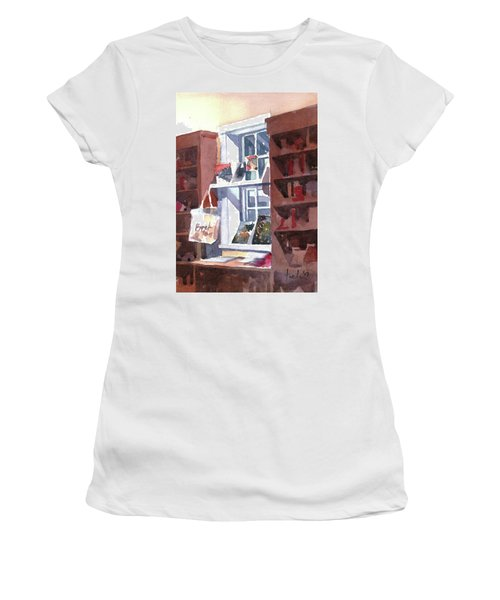Book Bag Women's T-Shirt (Athletic Fit)
