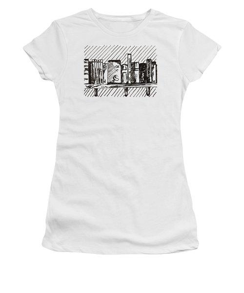 Bookshelf 1 2015 - Aceo Women's T-Shirt
