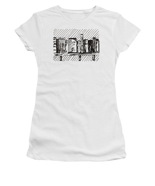 Bookshelf 1 2015 - Aceo Women's T-Shirt
