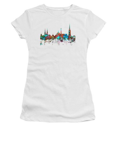 Bordeaux France  Skyline  Women's T-Shirt