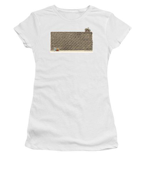Border Wall Women's T-Shirt