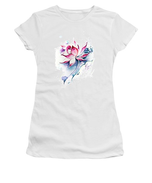 Born For Freedom Women's T-Shirt (Athletic Fit)