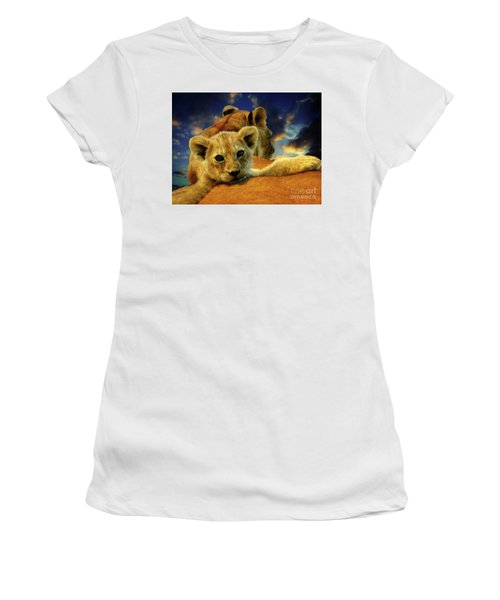 Born Free IIi Women's T-Shirt (Athletic Fit)