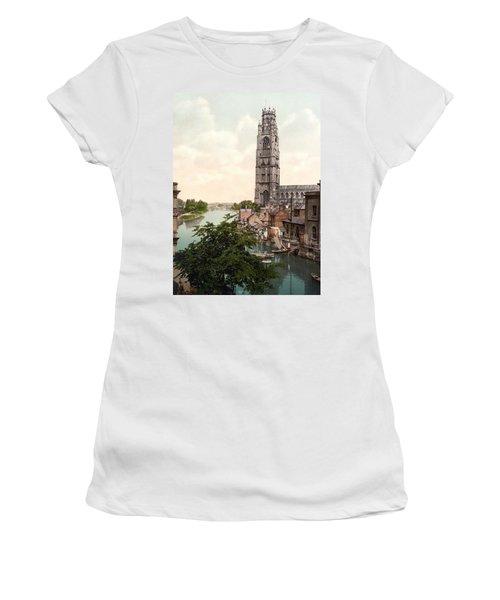 Boston - England Women's T-Shirt (Athletic Fit)