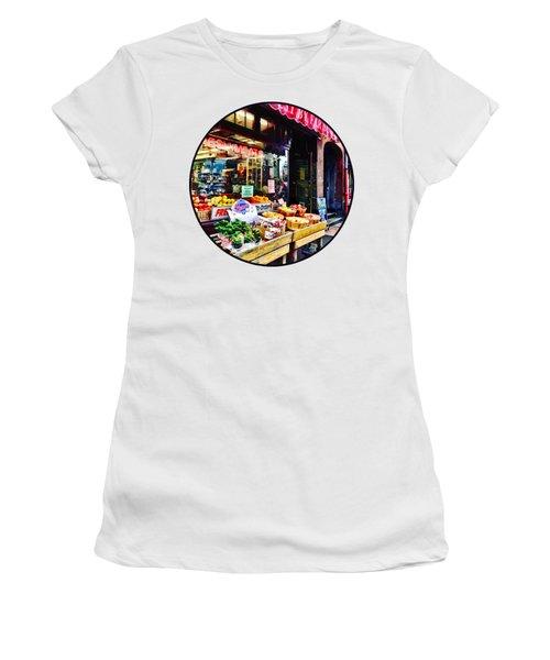 Boston Ma - Fruit Stand Women's T-Shirt