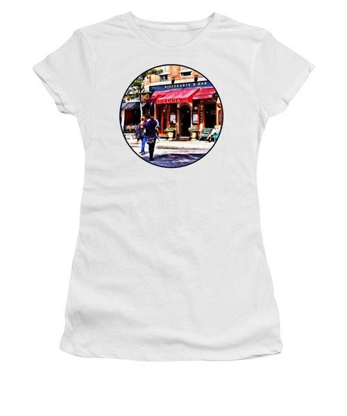 Boston Ma - Hanover Street North End Women's T-Shirt
