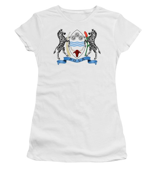 Botswana Coat Of Arms Women's T-Shirt