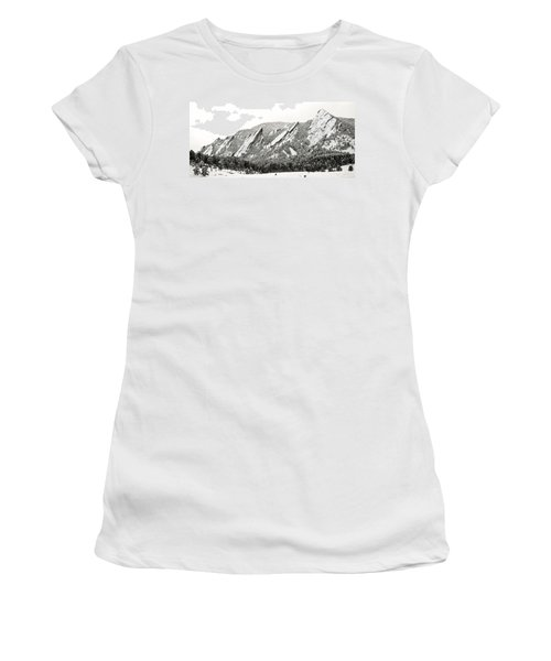 Boulder Flatirons Colorado 1 Women's T-Shirt