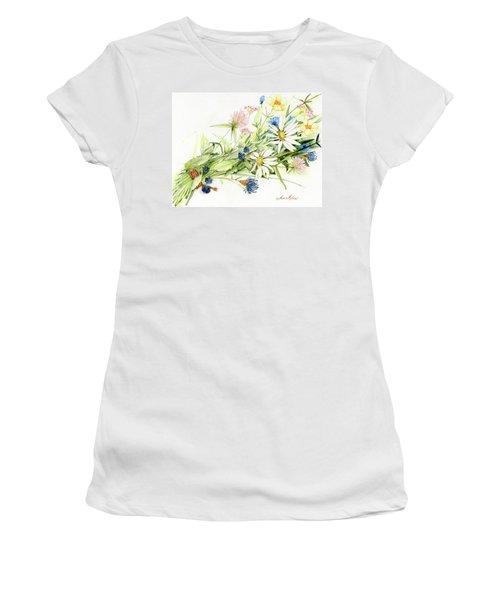 Bouquet Of Wildflowers Women's T-Shirt