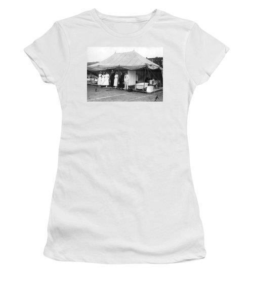 Boxing Match Field Hospital Women's T-Shirt
