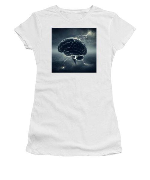 Brainstorm Women's T-Shirt (Athletic Fit)