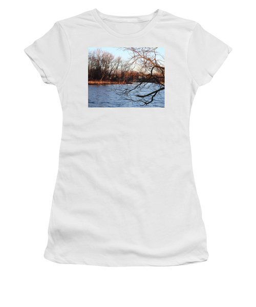 Branches Over Water Women's T-Shirt