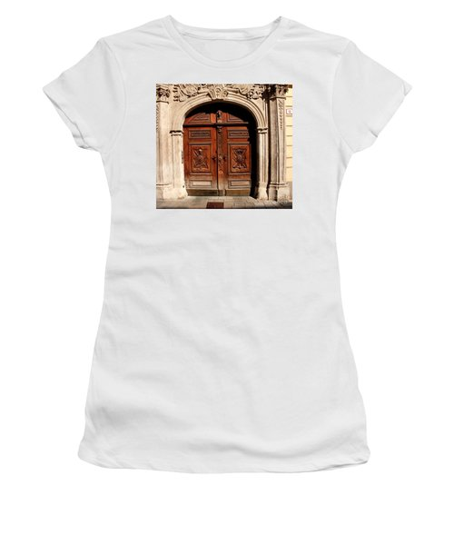 Bratislava Doors Women's T-Shirt (Athletic Fit)