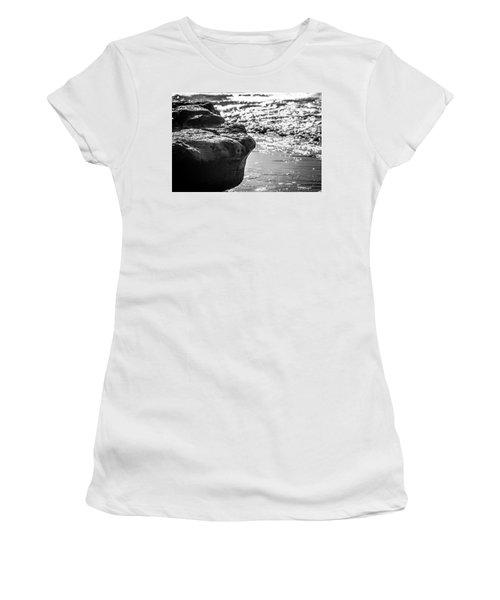 Break In The Surf Women's T-Shirt (Athletic Fit)
