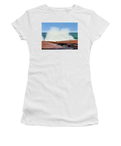 Breakers On Georgian Bay Women's T-Shirt
