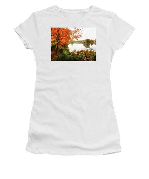 Breath Of Autumn Women's T-Shirt (Athletic Fit)