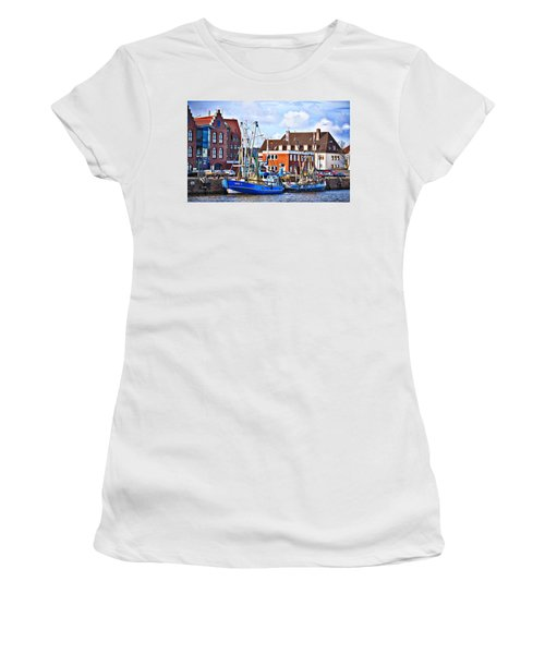 Bremerhaven Harbor, Germany Women's T-Shirt