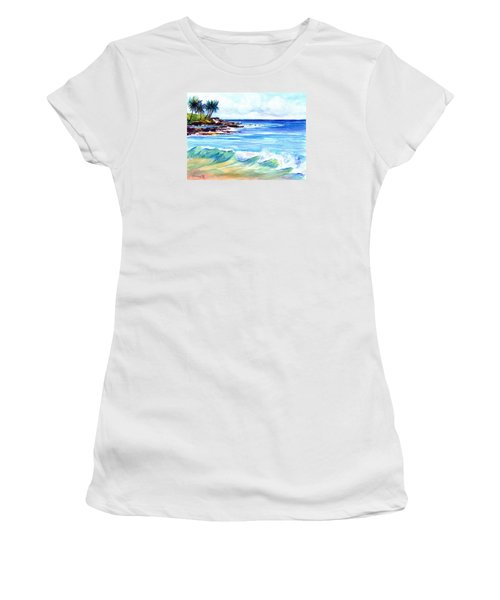 Brennecke's Beach Women's T-Shirt (Athletic Fit)