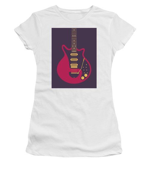 Red Special Guitar - Black Women's T-Shirt