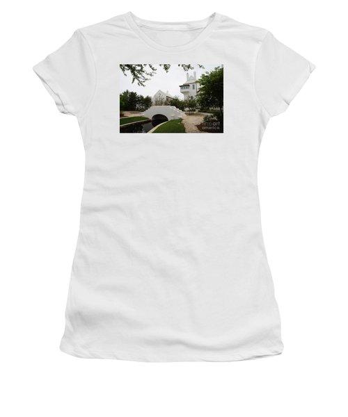 Bridge In Alys Beach Women's T-Shirt (Athletic Fit)