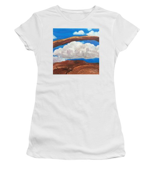 Bridge Over Clouds Women's T-Shirt