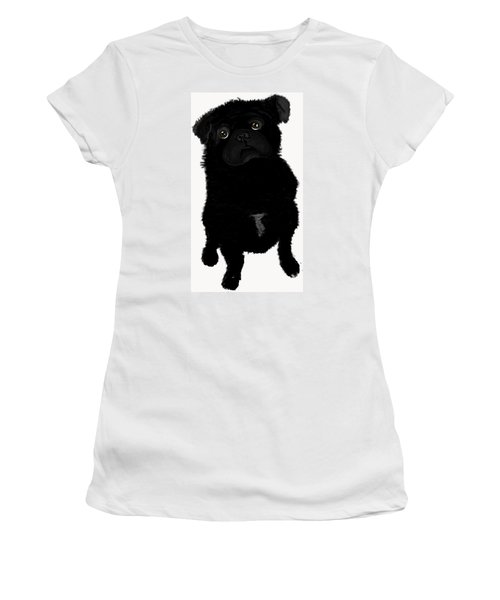 Women's T-Shirt (Junior Cut) featuring the photograph Brig by Paula Brown