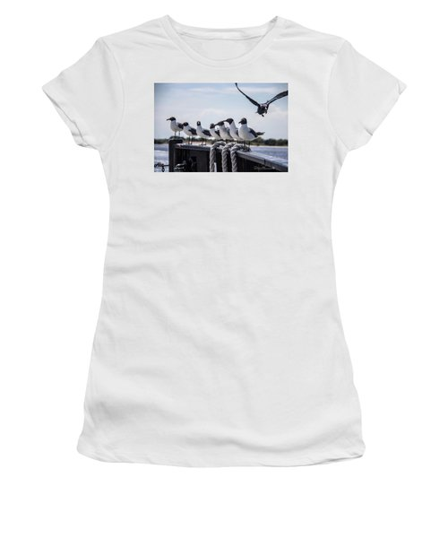 Bringing Up The Rear Women's T-Shirt (Athletic Fit)