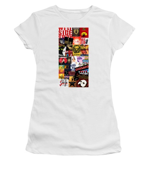 Broadway 9 Women's T-Shirt (Junior Cut) by Andrew Fare