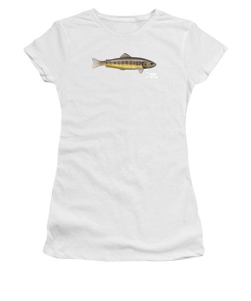 Brown Trout - Autochthonous - Indigenous - Salmo Trutta Morpha Fario - Salmo Trutta Fario Women's T-Shirt