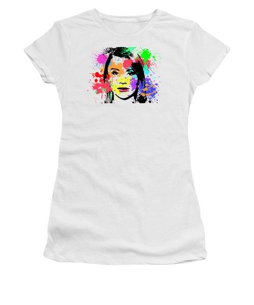 Bryce Dallas Howard Pop Art Women's T-Shirt