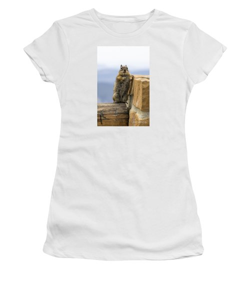 Bryce Squirrel Women's T-Shirt (Athletic Fit)