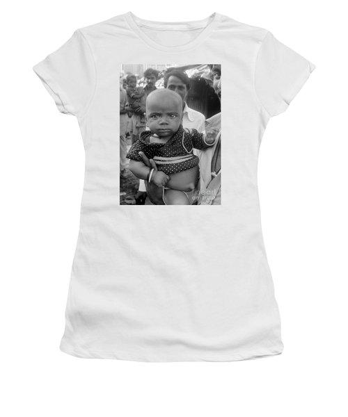 Buddha Baby, Mumbai India  Women's T-Shirt (Athletic Fit)