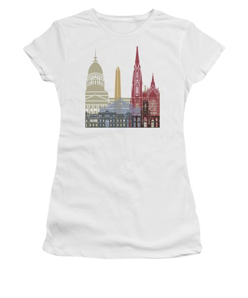 Buenos Aires Skyline Poster Women's T-Shirt