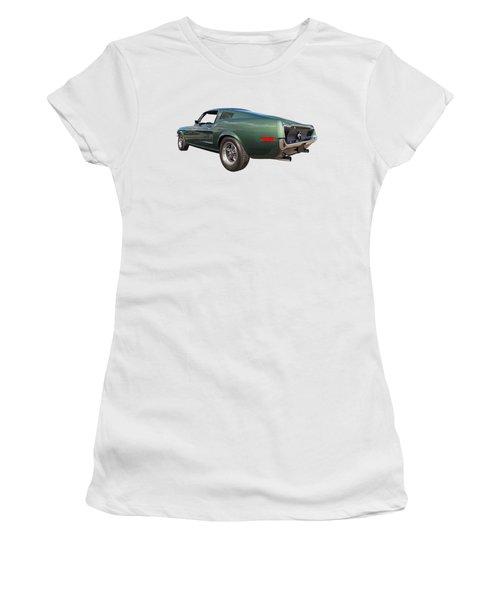 Bullitt - 1968 Mustang Fastback Women's T-Shirt