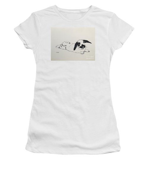 Bunny Women's T-Shirt (Athletic Fit)